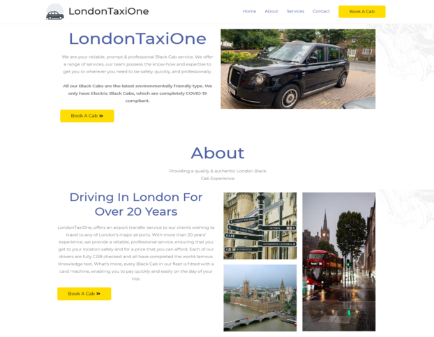 londontaxione black cab hire