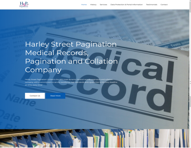 Harley Street Pagination Home page